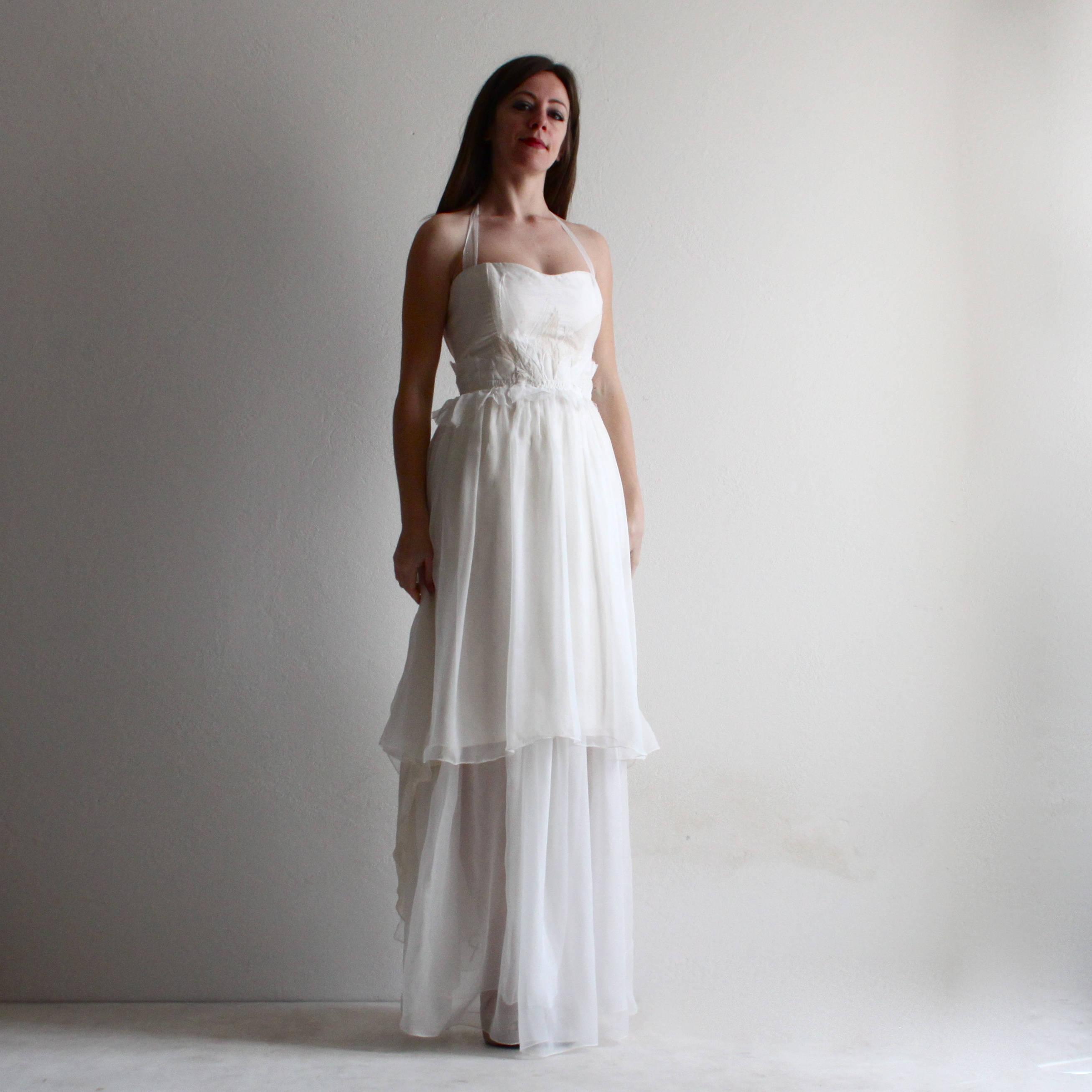 Vestiti Da Sposa Su Misura.Abito Da Sposa Vestito Da Sposa Alternativo Abito Da Sposa